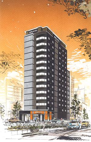 20151016アパホテル飯田橋駅前