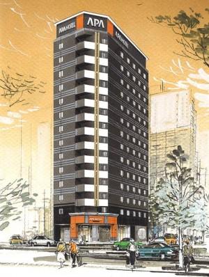 20151225アパホテル歌舞伎町Ⅱ