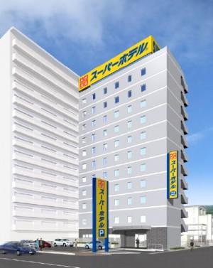 20161220スーパーホテル三原駅前