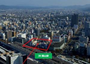 20170315JR岡山駅前市街地再開発事業