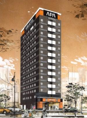20170407アパホテル日本橋馬喰横山駅前