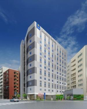 20170411コンフォートホテル東京東神田